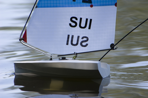 """Dieter's latest boat, """"Gwaggli"""". He plans to compete at the Gold Cup in Sestriere, Italy."""